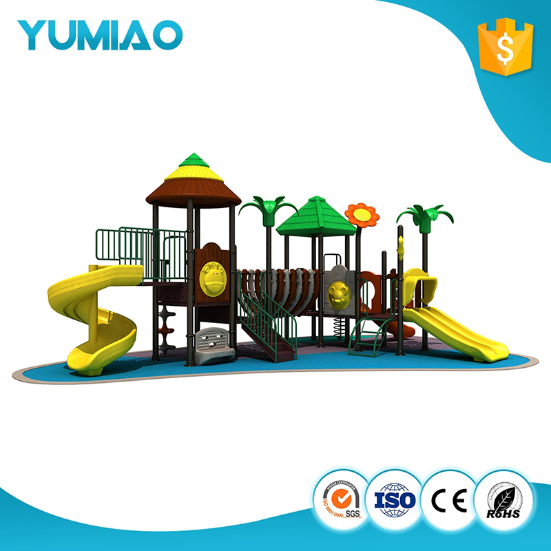 Acceptable Custom Amusement Park High Quality Outdoor Water slide Playground