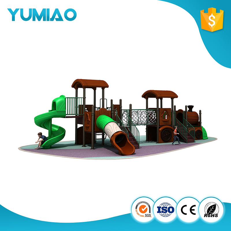 Outdoor plastic playground kids playground