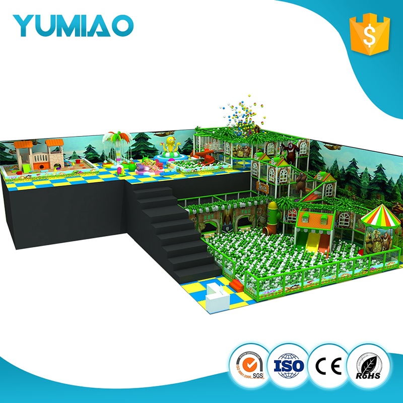 New Arrival commercial indoor playground toddler jungle gym indoor soft playground