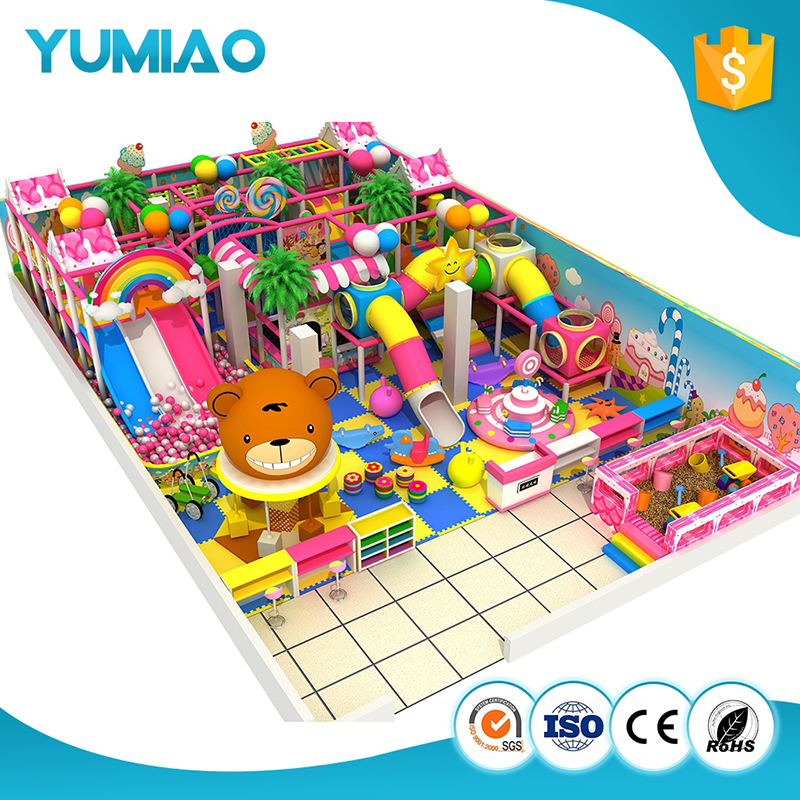 Factory price rotational moulding indoor playground for birthday party indoor castle kids indoor playground