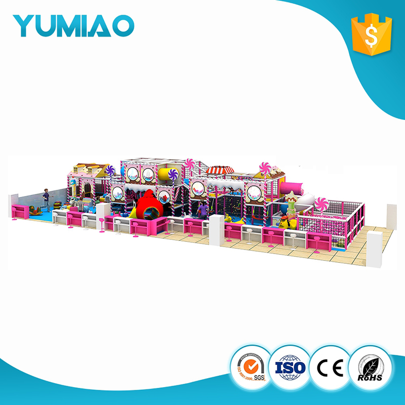 Factory custom kids paly park funny slides indoor amusement park