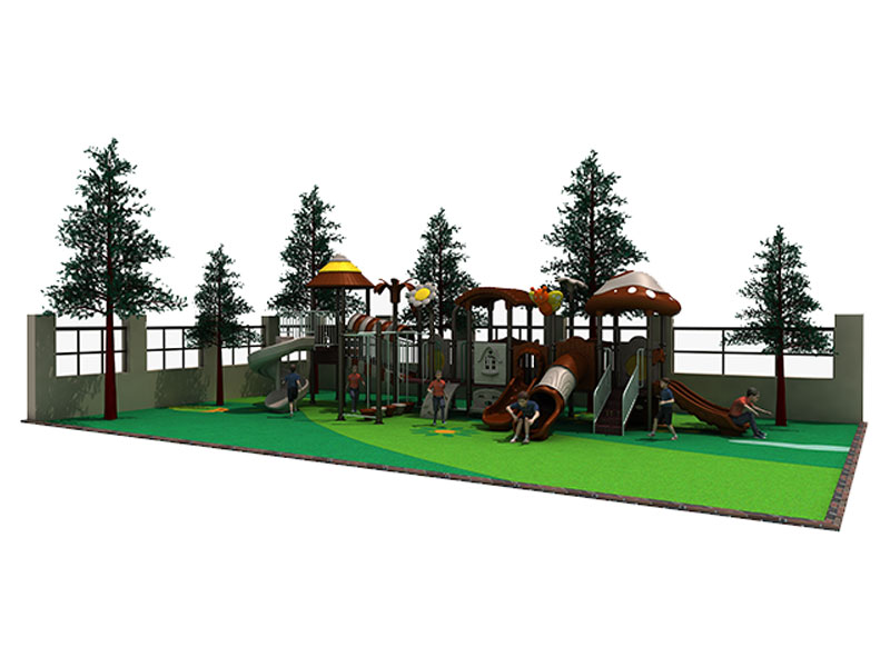 GS Certificated Plastic Outdoor Playset for Toddlers CT-008