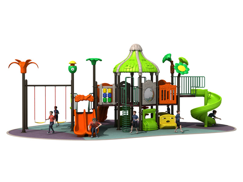 Backyard Discovery Kids Outdoor Playset with Swing CT-014