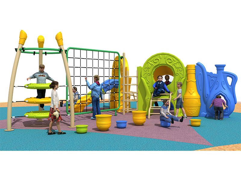 Cheap Outdoor Climb and Slide for Toddlers ZHS-007