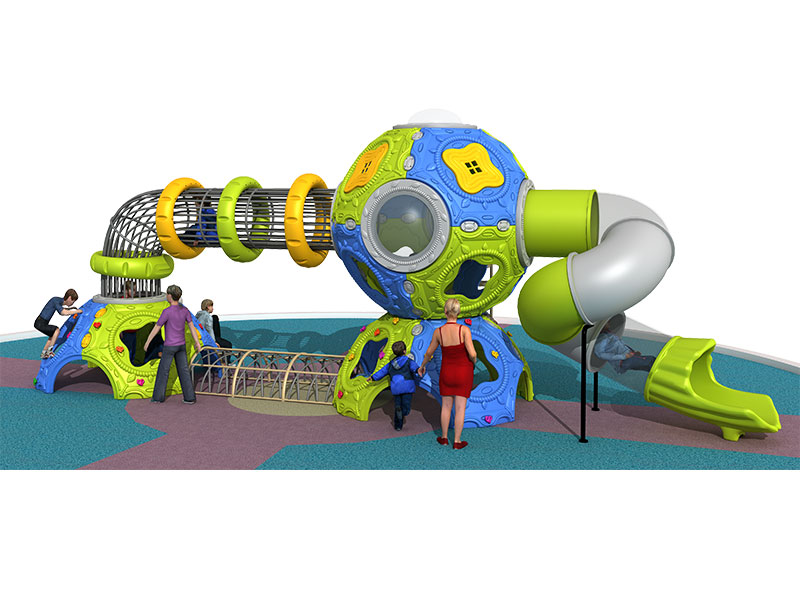 Big Plastic Playground Dome for Kids ZHS-014