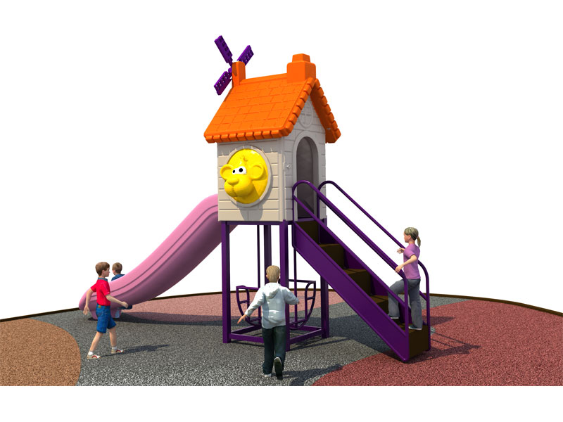 Cheap Small Backyard Playground Set for Home SJW-025