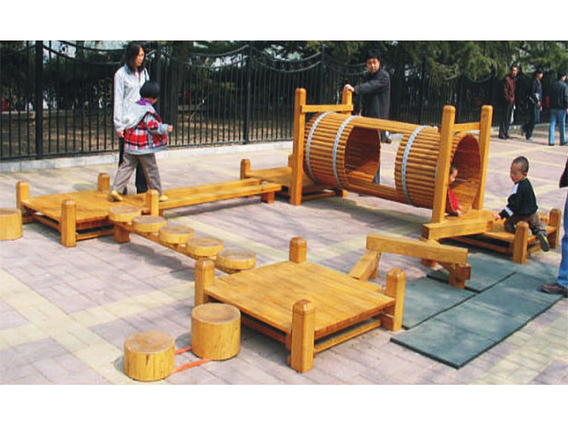 Children Outdoor Wooden Play Area for Public Parks MP-019