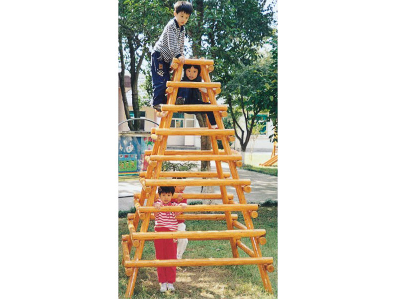 High Quality Kids Wooden Climbing Frame for Sale MP-020