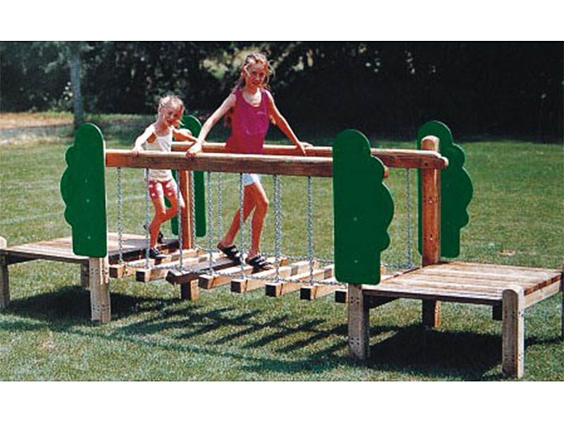Outdoor Wooden Backyard Playground for Toddlers MP-030