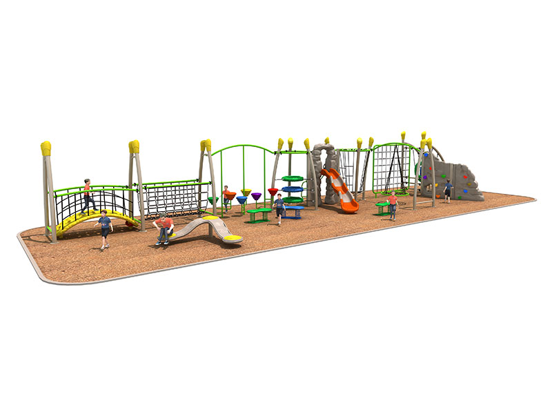 Low Cost Kids Outdoor Play Gym for Parks TP-015