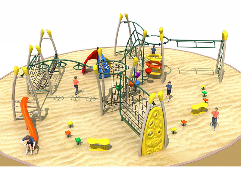 Chinese Manufacturer Large Climbing Frame for Sale TP-020