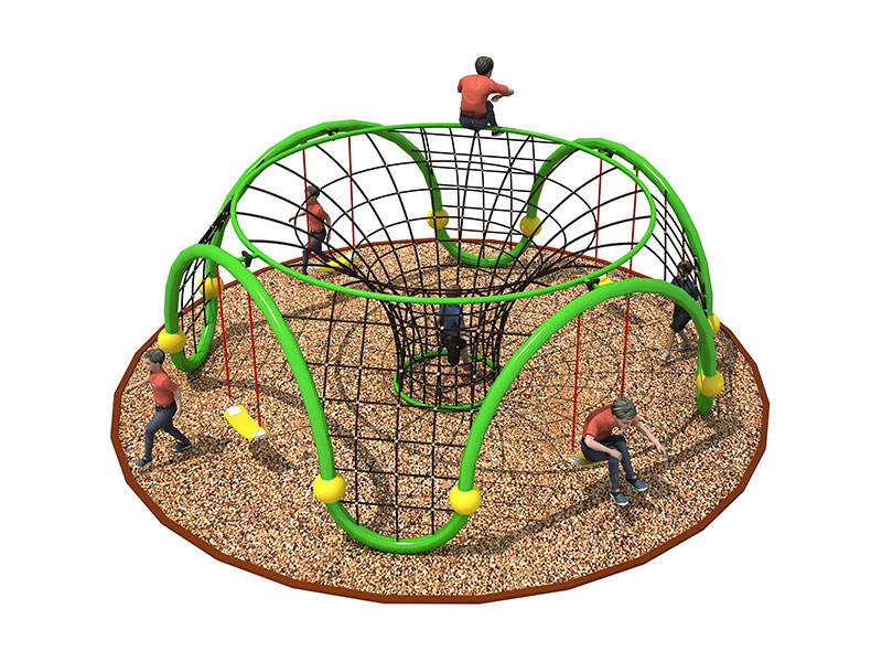Outdoor Climbing Rope Net Playground for Children ODCS-008