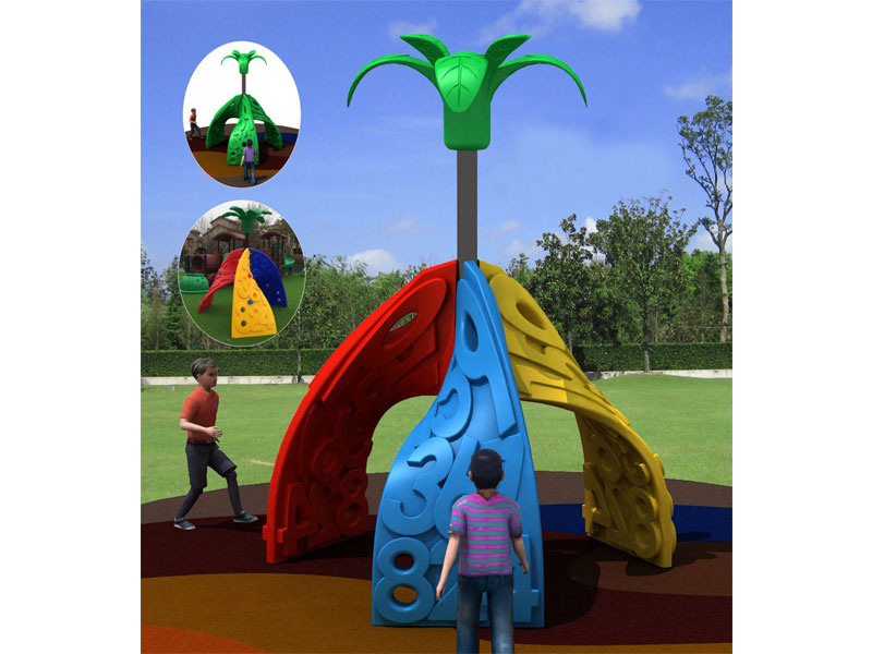 Cheap Plastic Climbing Structure for Toddlers ODCS-022