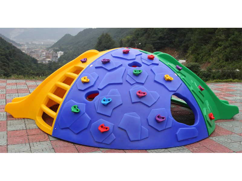Plastic Backyard Climbing Dome with Slide for Toddlers ODCS-027