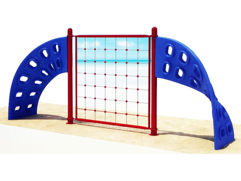 Two Panel Rope Climbing Structure for Toddlers ODCS-030