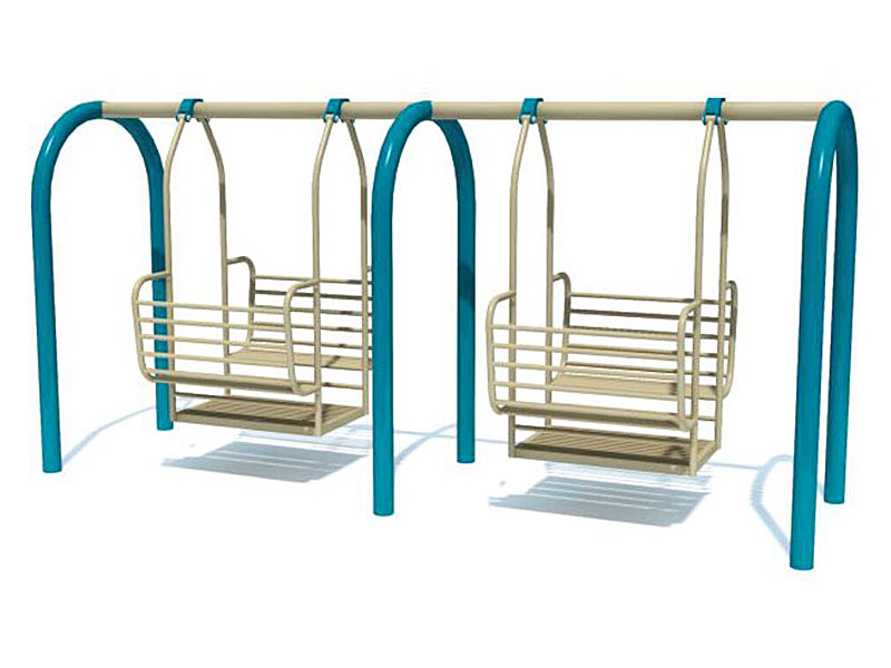 Outdoor Four Seats Single Swing Set for Kids SW-008