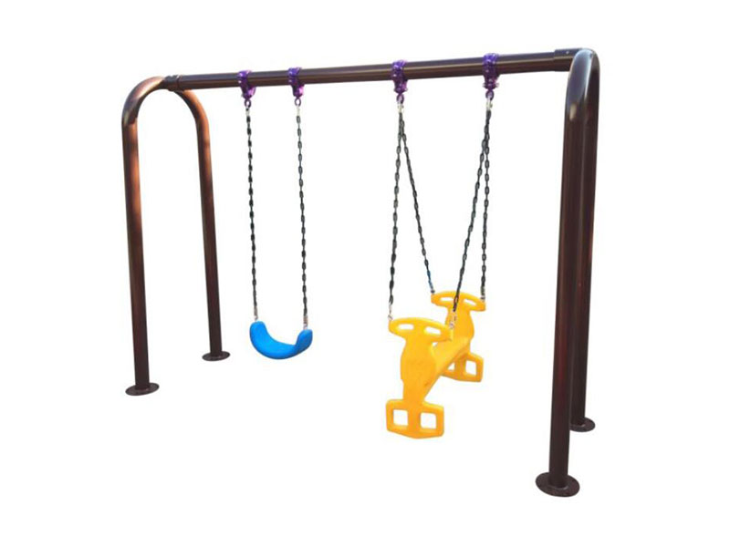 Small Outdoor Toddler Swing with Two Seats SW-013