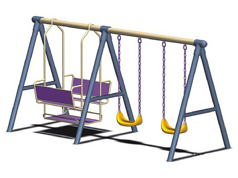 Big Outdoor Heavy Duty Swing Sets for Children SW-019