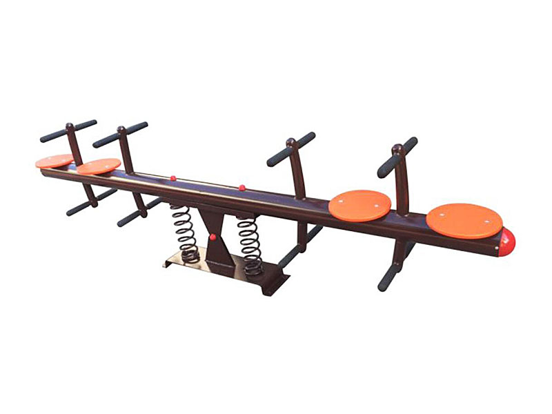 Hot Selling Kids Playground Teeter Totter with Four Seats SS-010