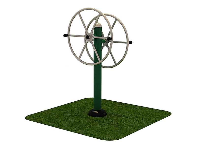 Double Arm Wheel for Outdoor Fitness Park OF-019