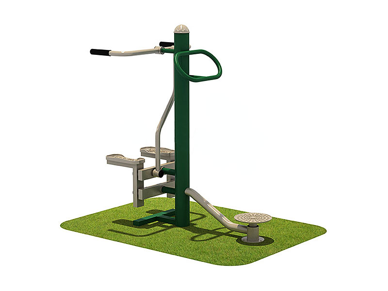 Outside Workout Equipment Waist Twister and Stepper OF-025