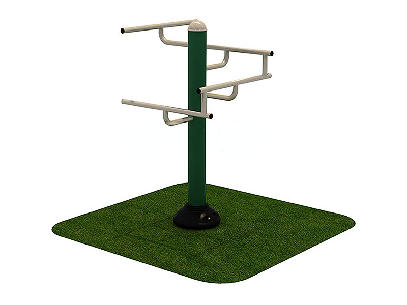 Outdoor Gym Set Leg Stretch Station for Schools and Parks OF-026