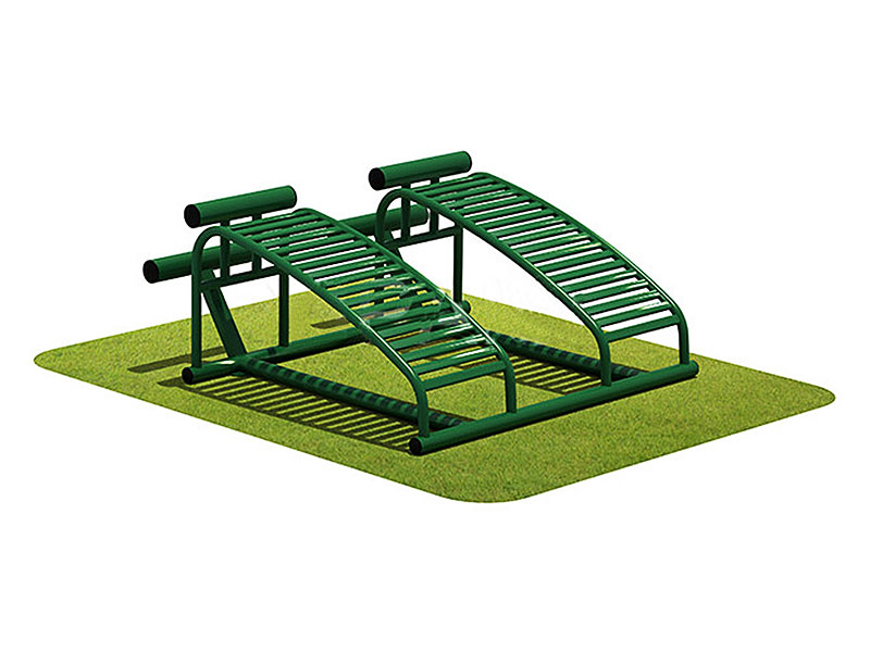 Cheap Outdoor Gym Equipment Double Sit-up Machine for Sale OF-036