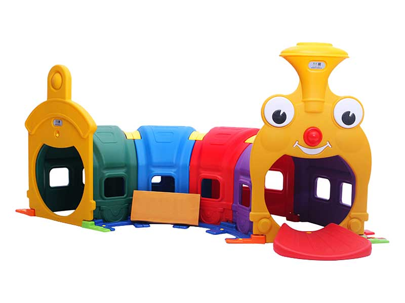 Indoor Plastic Toy Train Tunnel for Schools Kids SH-020