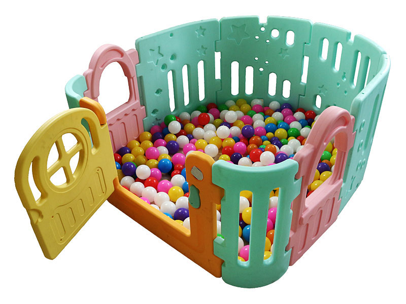 Colorful Plastic Playpen for Babies BP-003