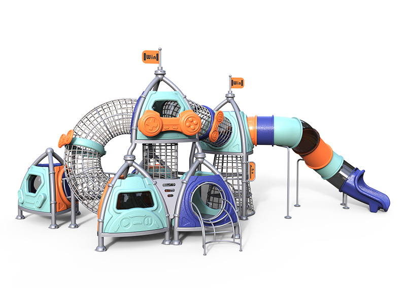 Large Outdoor Playground Structure for Theme Parks MH-008