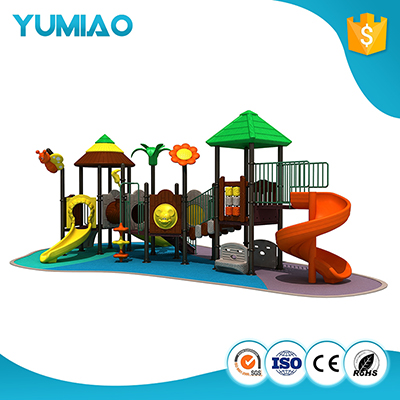 Factory Sell Preschool Wooden Childrens Outdoor Playground