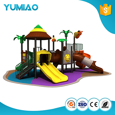 Commercial large plastic water slide