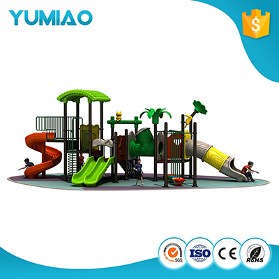 Cheap amusement outdoor playground slides children