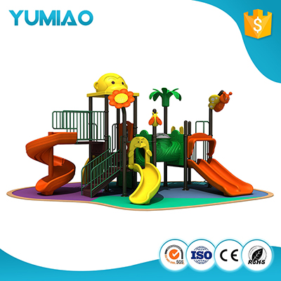Cheap outdoor playground equipment slides for kids