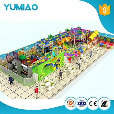 Safety colorful soft indoor playground with ball pool indoor playground and equipment indoor play slides