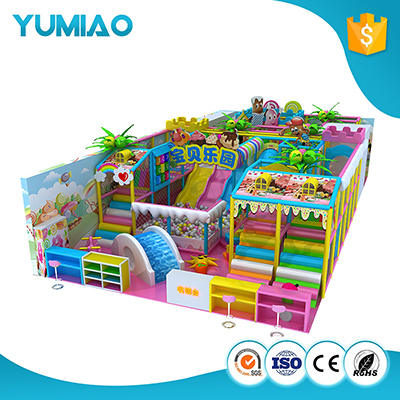 China supplier naughty fort electric indoor playground equipment indoor wooden slide