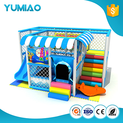 Dreamland rainbow color outdoor playground slide outdoor playhouse cheap soft play equipment