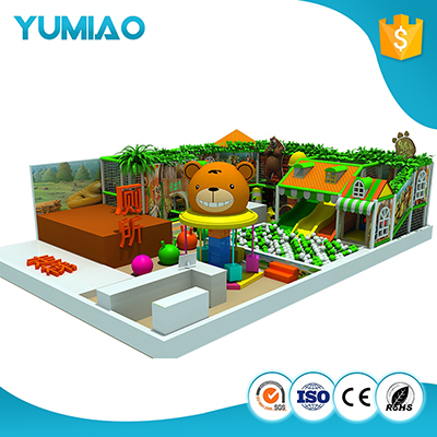kid indoor playground for children playground with slide and tunnel indoor preschool playground equipment