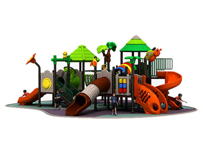 Cheap Kids Outdoor Playground for Preschool CT-002