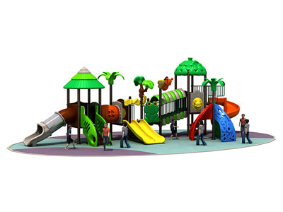 Kids Garden Play Equipment with Climbing Frame CT-013