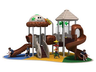 Best Priced Children Outdoor Playground Equipment for Sale CT-011