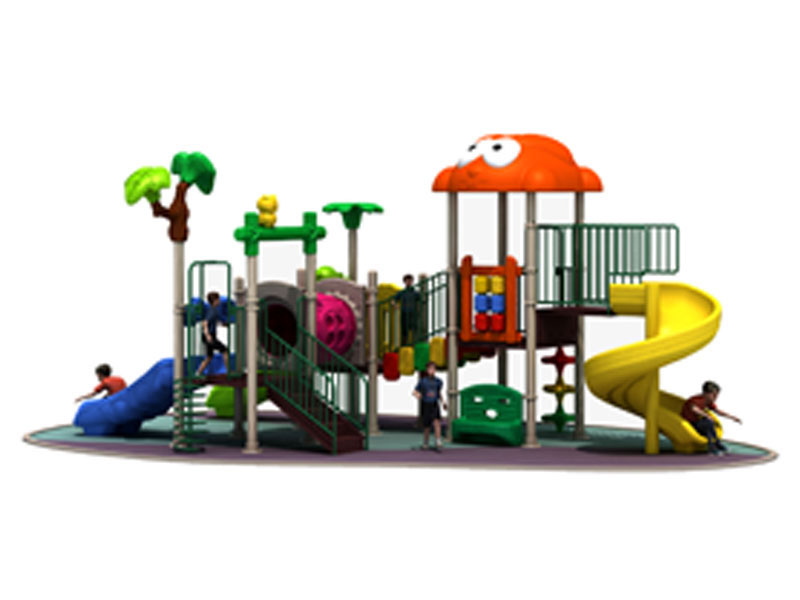 China Made Toddler Outdoor Playset with Slide DW-005
