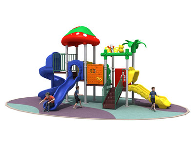 Small Kids Outdoor Play System for Daycare Center RY-007
