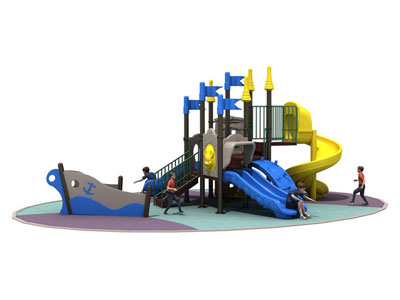 Attractive Design Pirate Ship Playground for Kids YFQH-002