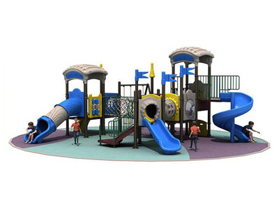 Outdoor Park Play Equipment with Swing Sets YFQH-005