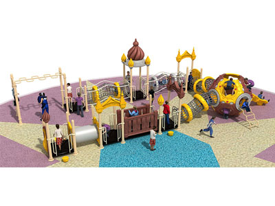 Children's Outdoor Playset with Monkey Bars ZHS-009