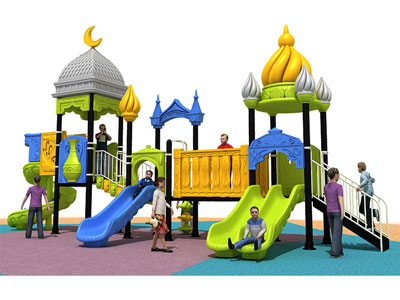 Fun Outdoor Plastic Play Sets for Toddlers YQL-008