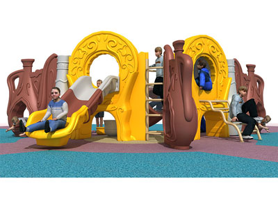 Outdoor Playground Slides for Safety Play ZHS-018
