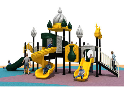 Kids Outdoor Castle Playground for Parks YQL-003