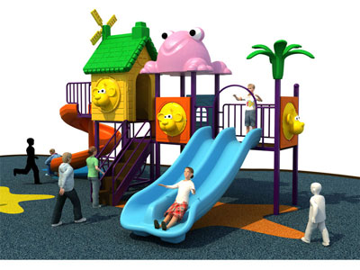 High Quality Metal Play Structure for Children SJW-005